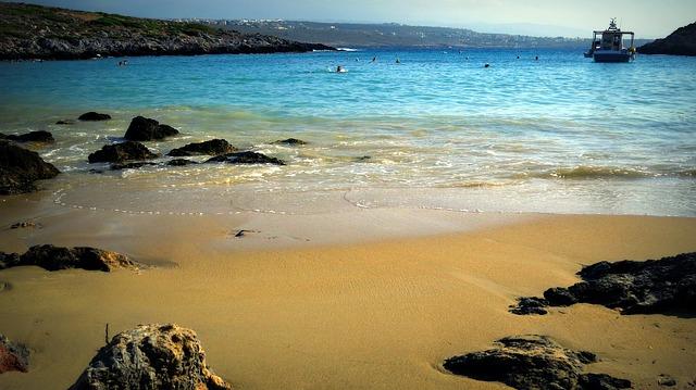 písčitá pláž