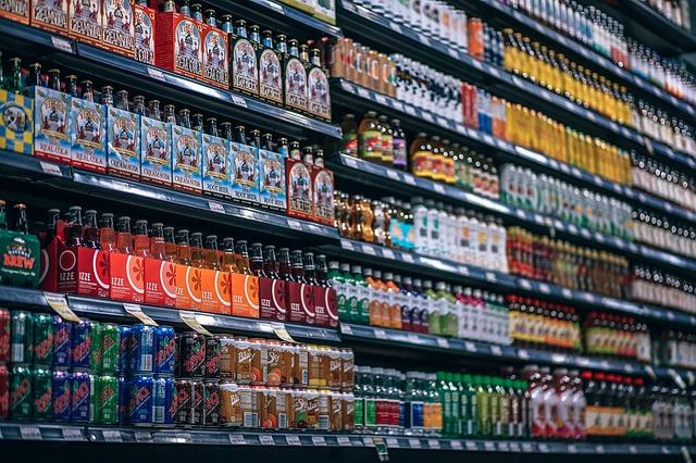 prodej nápojů