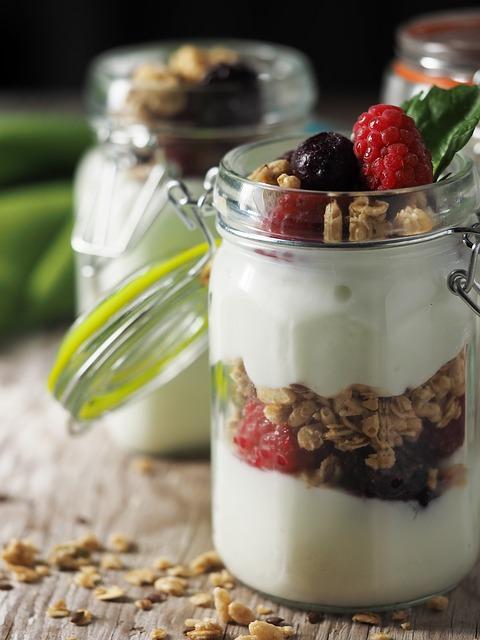 musli s jogurtem
